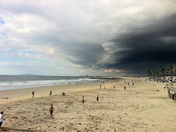 Newport Beach Storm