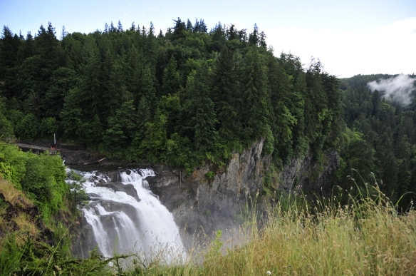 Snoqualmie Falls from Above