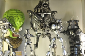 Random robots made of spoons (mostly)