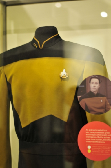 Data's uniform from Star Trek: Next Generations