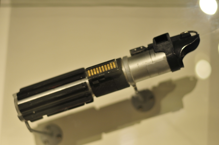 Darth Vader's lightsaber from the original Star Wars movies