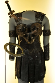 Xena's costume and gear from the TV show