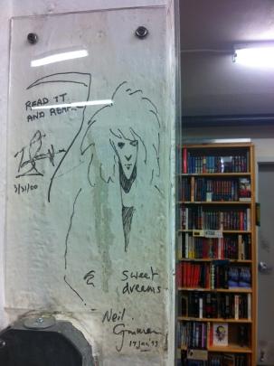 Neil Gaiman Signature
