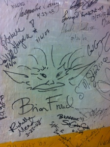 Brian Froud Signature