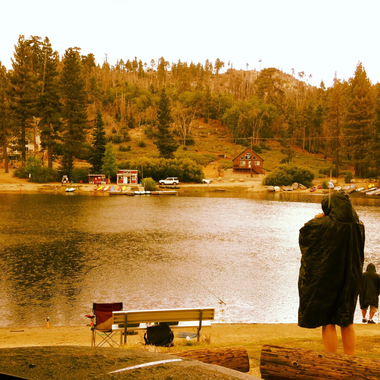 Green Valley Lake Rain