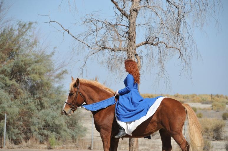 Lady on Horseback