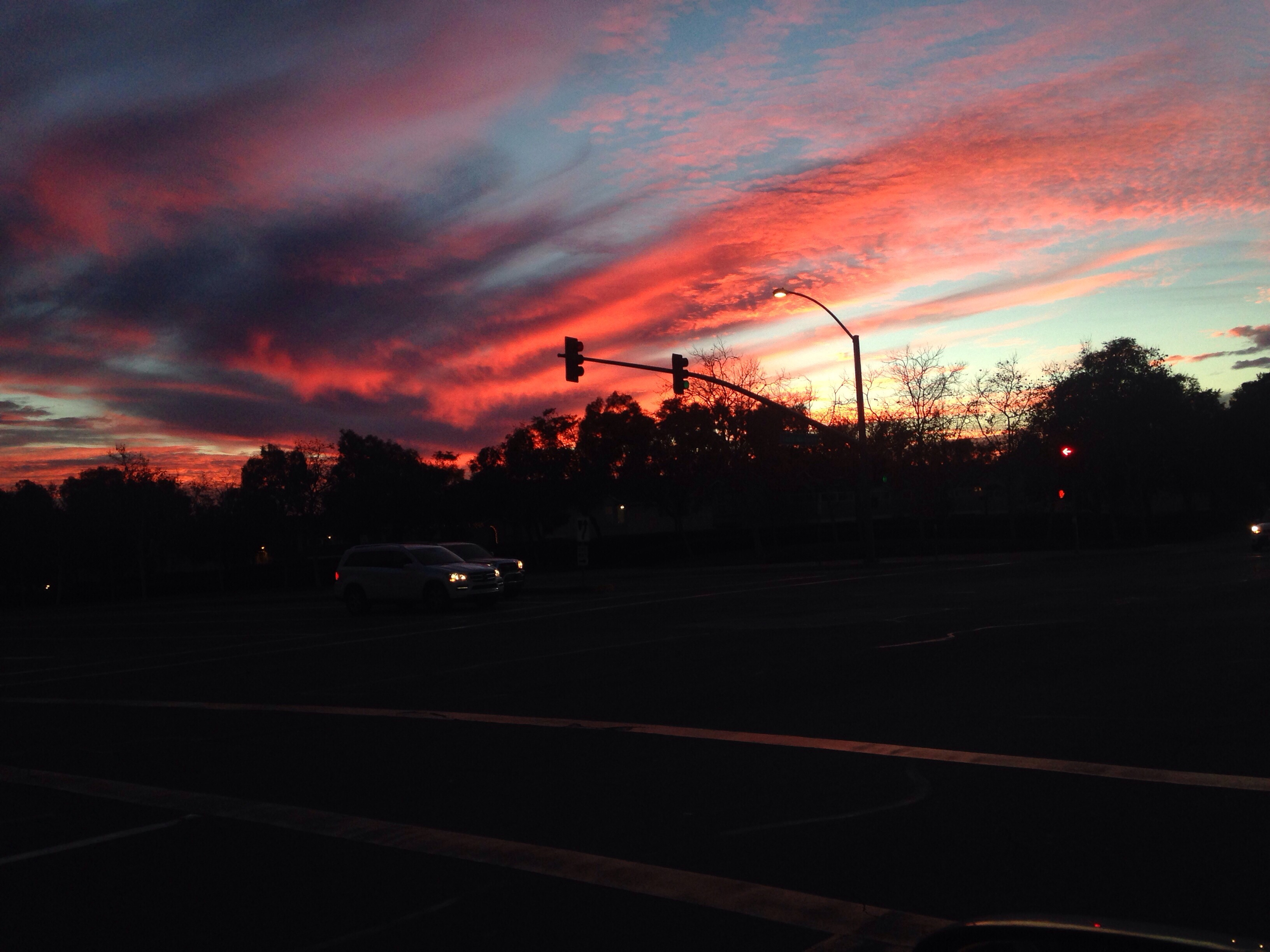 Sunset Near Home