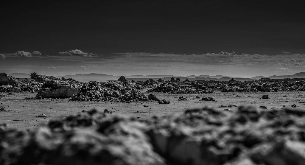 Mono Lake Rock View