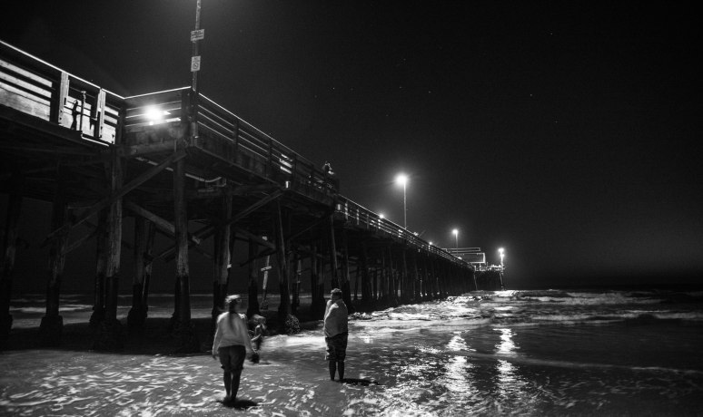 Newport Beach Pier Starlight