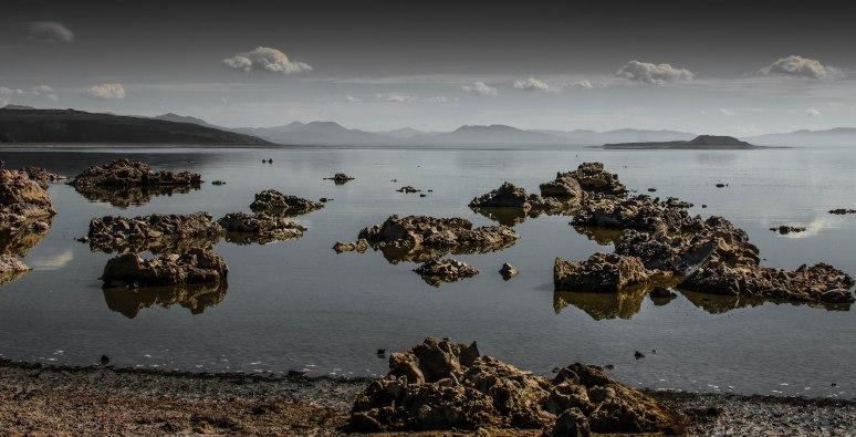 Partially Monochrome Mono Lake