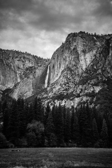 Upper Yosemite Falls in the distance